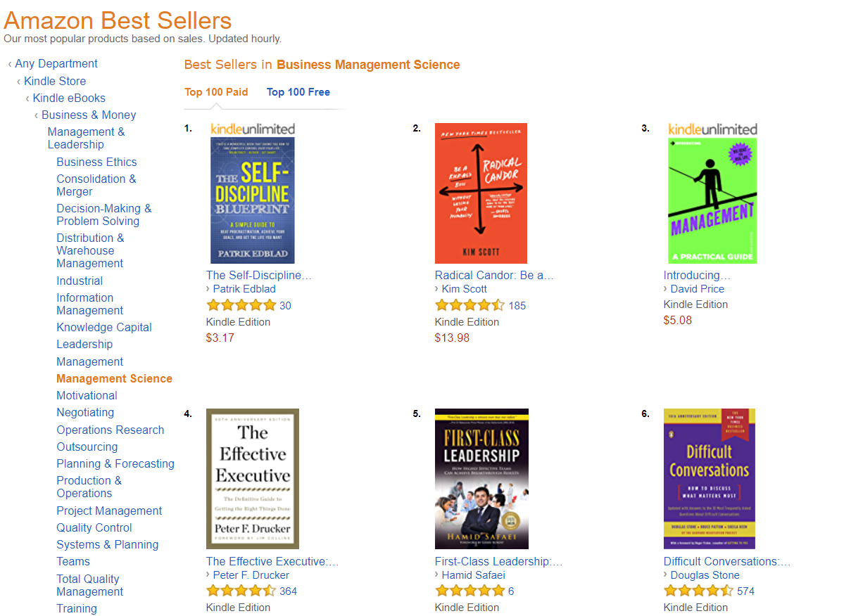 Amazon bestseller first class leadership 31 fandeluxe Choice Image
